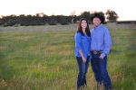 Troy and Stacy Hadrick on their South Dakota ranch