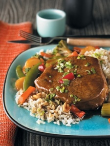 Kung Pao Beef - a healthy beef meal